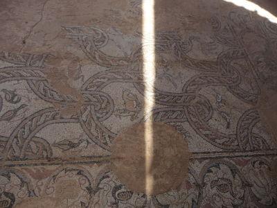 Mozaika pôvodného Kostola sv. Pantaleona postaveného za čias sv. Klimenta