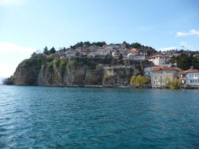 Ohrid z jazera