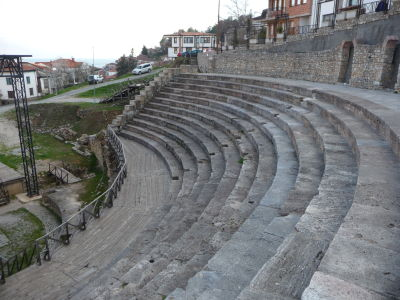 Grécke divadlo v Ohride