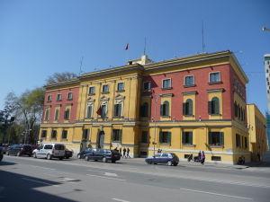 Ministerstvo financií v Tirane