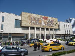 Múzeum histórie v Tirane