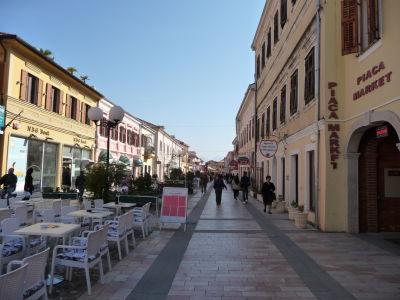 Pešia zóna Rruga Kolë Idromeno