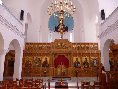 Ortodoxná Katedrála Narodenia Krista - Ikonostas