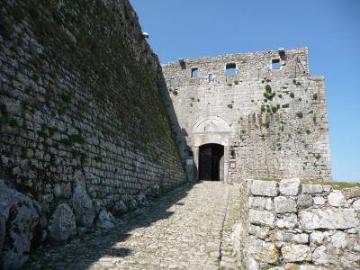 Hlavná brána v pevnosti Rozafa