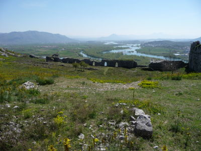 Pevnosť Rozafa a rieka Drin