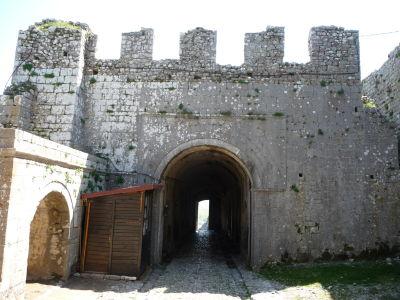 Pevnosť Rozafa - Hlavná brána