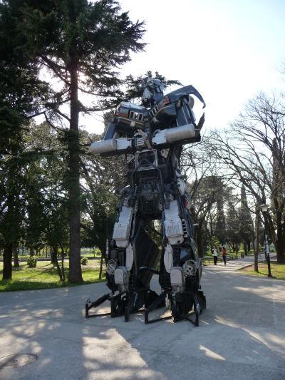 Jeden z transformerov v Podgorici