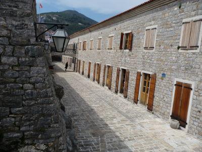 Vnútorné nádvorie citadely