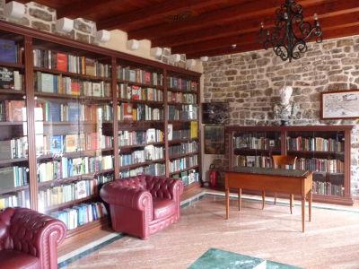 V citadele sa nájde i knižnica s antickou literatúrou
