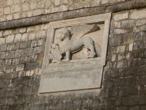 Kotorské opevnenie - Lev sv. Marka - Symbol Benátok