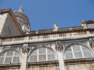 Fasáda dubrovníckej Katedrály nanebovstúpenia Panny Márie