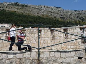 Pohľad z hradieb motivuje k romantickým činom