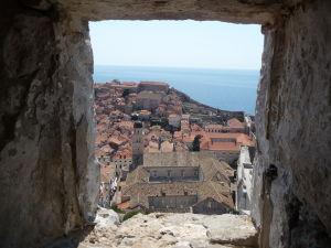 Pohľad z veže Minčeta na Dubrovník
