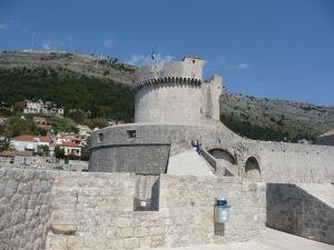 Najvyššia veža hradieb, Minčeta
