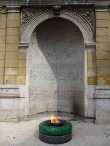 Večný oheň pre padlých v 2. svetovej vojne
