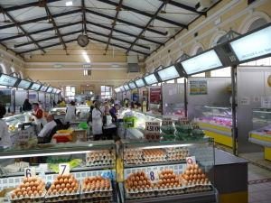 Mestský trh Markale, miesto kam dopadli bomby