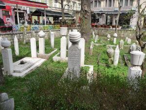 Moslimský cintorín pri mešite Ferhat-Paša