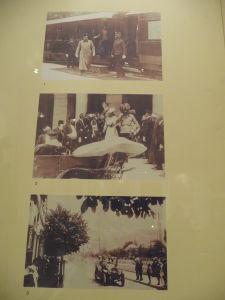 Múzeum atentátu - Dolu fotografia pár sekúnd pred atentátom