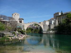 Starý most z pláže