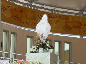Socha Panny Márie v Medžugorí