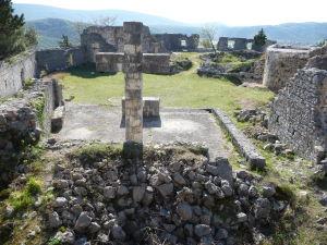Toto bol asi kostol, aj keď kríž vyzerá, že bol pridaný relatívne nedávno