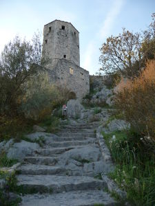 Jedna z veží pevnosti