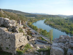 Pohľad na rieku Neretva