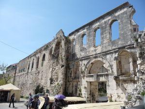 Zvyšok steny Diokleciánovho paláca