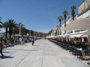 Prímorská promenáda v Splite