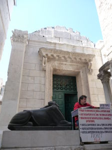 Jupiterov chrám alias Chrám sv. Jána zvonku
