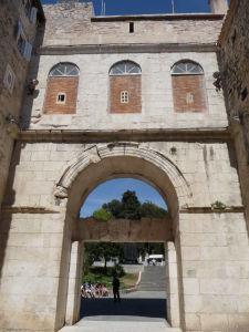 Zlatá brána - kedysi severný vstup do Diokleciánovho paláca