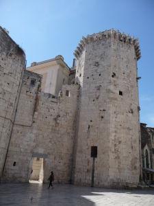 Zvyšky pevnosti v Splite
