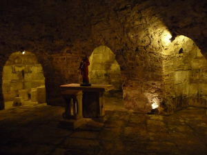 Krypta pod katedrálou