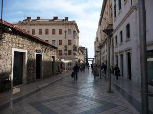 V uličkách Splitu...
