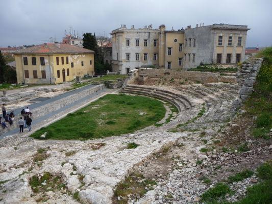 Rímske divadlo v Pule
