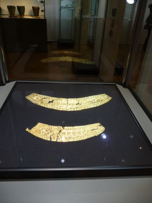 Národné múzeum - zlaté artefakty