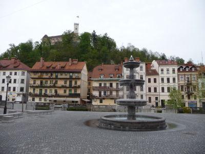 Pohľad na hrad zo starého mesta