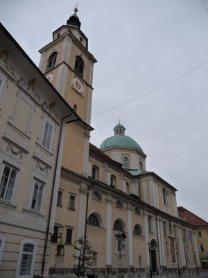 Ľubľanská katedrála sv. Mikuláša