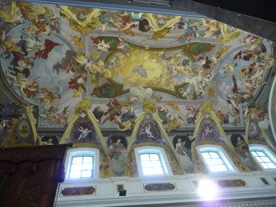 Strop katedrály