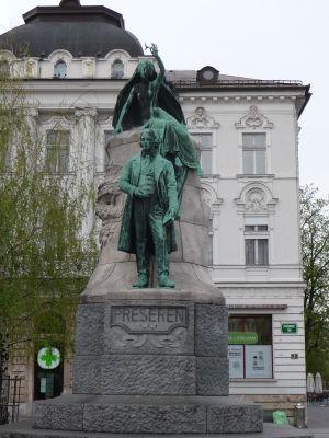 Prešernov pamätník