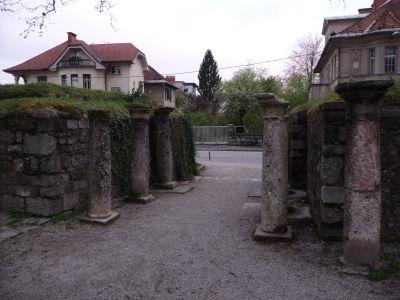 Pozostatky rímskeho opevnenia v meste