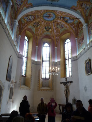Kaplnka na ľubľanskom hrade