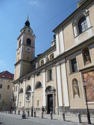 Ľubľanská katedrála