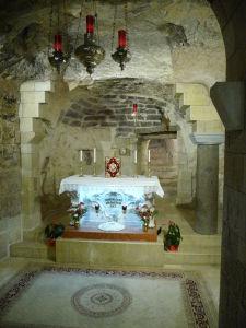 Bazilika zvestovania - Miesto, kde archanjel Gabriel zvestoval Panne Márii