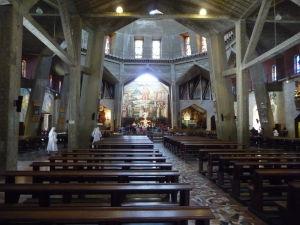 Bazilika zvestovania - Hlavná loď