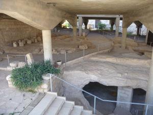Bazilika zvestovania - Základy jedného z pôvodných chrámov
