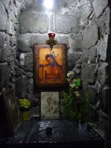 Grécky ortodoxný kostol zvestovania - Miesto zvestovania