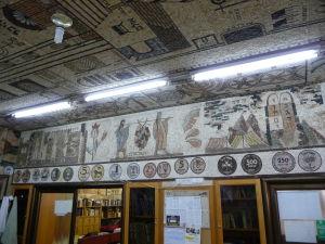 Vstupná hala s mozaikami
