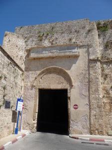 """Vstupná brána v opevnení (""""suchozemská"""")"""