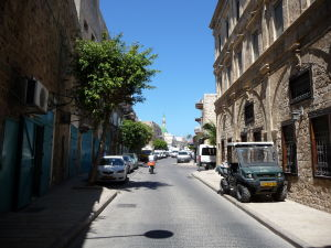 V uličkách starého mesta Akko